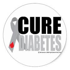 diabetes ribbon diabetes stickers
