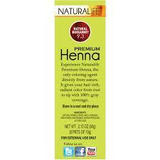 naturalife henna natural hair color for men u0026 women natural
