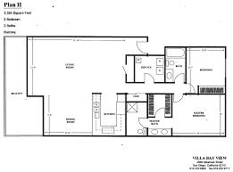 villa bay view floor plan f