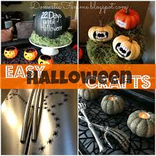 domestic femme easy diy halloween crafts