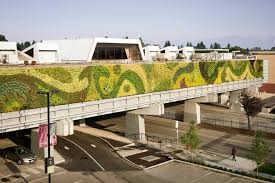 america s largest living wall adds sizable splash of green