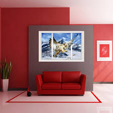 eagle home interiors aliexpress com buy new creative 3d false windows snow capped