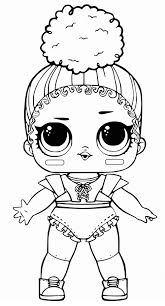 Coloring Page Lol Doll