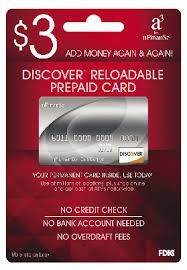 pre paid cards discount store offers 3 reloadable prepaid cards