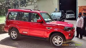 2015 scorpio launched at price of rs 7 98 lakhs indian cars bikes