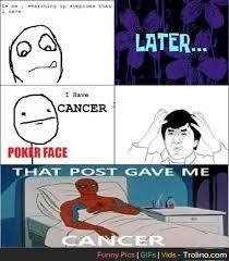 Gave Me Cancer Meme - spiderman meme cancer 28 images spider man cancer meme memes