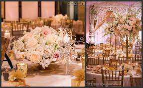 suhaag garden indian wedding centerpieces crystals flowers