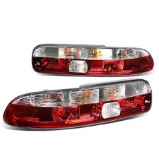 lexus sc300 lowering kit 92 00 lexus sc300 sc400 pair of chrome housing clear u0026 red lens
