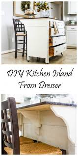 how to make kitchen island need kitchen storage make a kitchen island from a dresser great