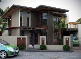 two story bungalow two storey house design with terrace small single roof deck floor