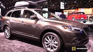mazda suv models 2015 2015 mazda cx 9 grand touring exterior and interior walkaround