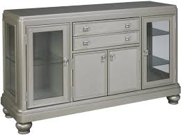 coralayne silver 2 drawer dining server from ashley d650 60