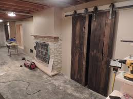 Barn Door Frame by Barn Door Hardware Montreal Johnson Barn Door Hardware Generva