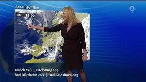 Wetter Bad Liebenwerda Claudia Kleinert Und Das Ard Wetter Mit Viel Herz Am 25 11 2015
