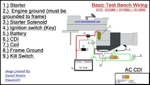 6 pin cdi box wiring diagram test bench basic to start diagrams