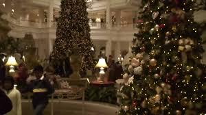 grand floridian christmas decorations tour at walt disney world