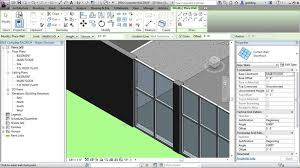 revit tutorial beginner revit architecture tutorial curtain walls youtube 144881 2017