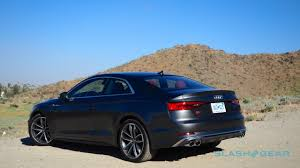 2018 audi s5 coupe and s4 sedan first drive seriously smooth