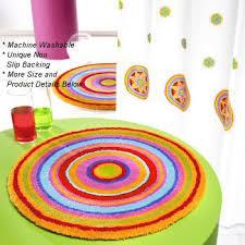 Colorful Bathroom Rugs Mandala Colorful Bathroom Rugs Rugs
