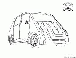 coloring page japanese mini van