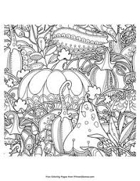 fall coloring page autumn free printable free and coloring
