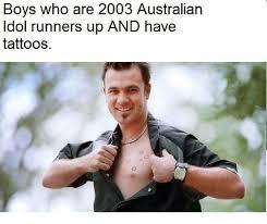 Boys With Tattoos Meme - 25 best memes about boy boys dank memes and tattoos boy