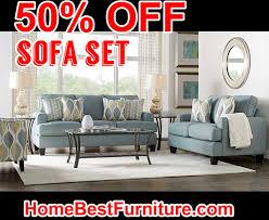 50 percent off discount cypress gardens blue sofa home decor