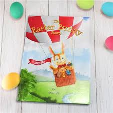 personalised book the easter bunny story a great easter gift