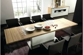 contemporary dining tables extendable contemporary extendable dining table joocy me