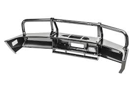 arb 3450100 deluxe bull bar bumper in black for 99 04 jeep grand