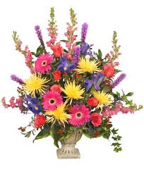 greenville florist colorful condolences tribute funeral flowers in greenville sc