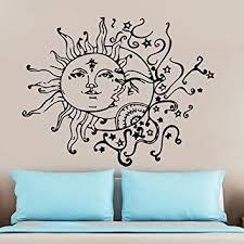 wall decal sun moon from amazon wall decal sun