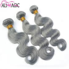 can ypu safely bodywave grey hair silver hair color brazilian hair weave bundles body wave grey hair