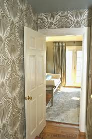 lucy williams interior design blog sylvan foyer wallpaper is in