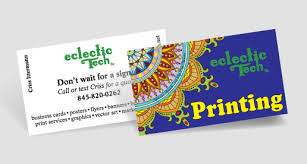 is it cheaper to print your own business cards eclectic tech
