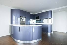 blue modern kitchen cabinets kitchen of the day a contemporary design with curved