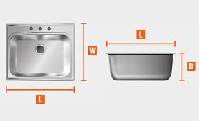 what size base unit for a sink how to measure a kitchen sink the home depot