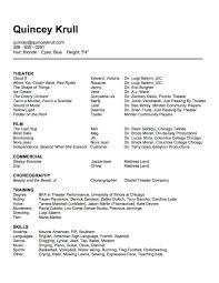 Lecturer Resume Format Resume Dance Resume Objective Regularguyrant Best Resume Site