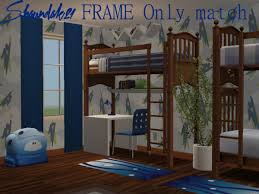2 Bunk Beds Sassy For Sims 2 Update Add On For My 2 Bunkbed Conversions