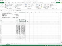how to create a table in excel 2016 how to create a one variable data table in excel 2016 dummies