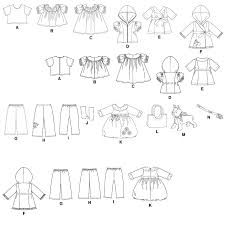 shirt pattern for dog m5775 outfits and dog for 18 doll sewing pattern mccall s patterns