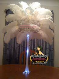 white ostrich feather centerpieces feathers by angel u0027s blog rent ostrich feather centerpieces page 12