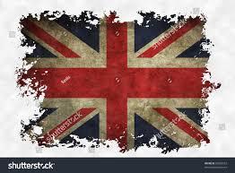 Use Flag Uk Flag On Old Vintage Paper Stock Illustration 93826552
