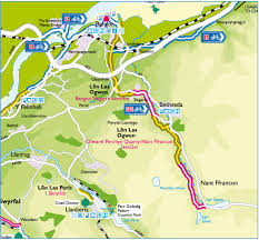 Map A Walking Route by Visit Snowdonia Gwynedd Recreational Routes