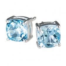 topaz earrings sky topaz earrings timepieces international