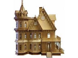 gothic victorian house 1 12 lazer cut leon gothic victorian mansion flat pack kit laser