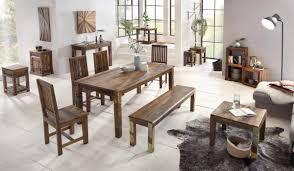 Esszimmerbank Holz Finebuy Esszimmerbank Delhi Mango Shabby Chic Massiv Holz Design