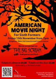 halloween movie night poster final kingdown