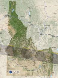 Idaho Zip Code Map by How To Find The Time Of The Total Solar Eclipse Today Using Your