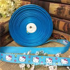 hello ribbon satin ribbon 50 yards diy packing hello craft decor